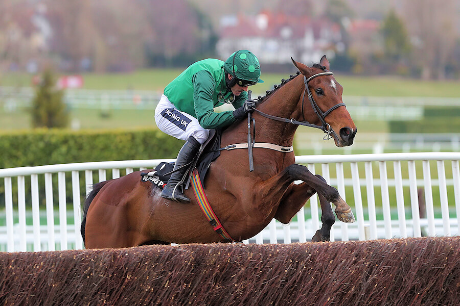Cheltenham Tues 13 March March 2018  Picture: Caroline Norris Footpad ridden by Ruby Walsh, jumping the last to win